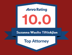Avvo 10 Rating for Top Attorney